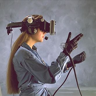 Immersion (virtual reality) - Classic Virtual reality HMD