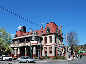Healesville, Victoria - The Grand Hotel at Healesville