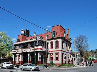 Healesville, Victoria - The Grand Hotel at Healesville