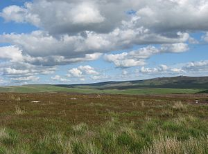 Hebden, North Yorkshire - Moorland to the north-east of the village