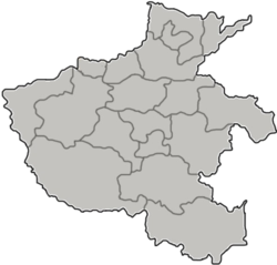 Qi County, Kaifeng is located in Henan
