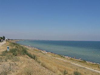 Henichesk - Image: Henichesk beach