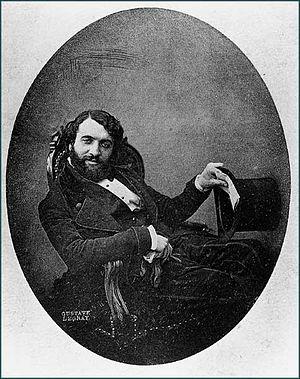 Henri Le Secq - Portrait of Henri Le Secq (1848) by Gustave Le Gray