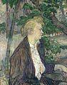 Henri de Toulouse-Lautrec - Femme assise dans un jardin.jpg