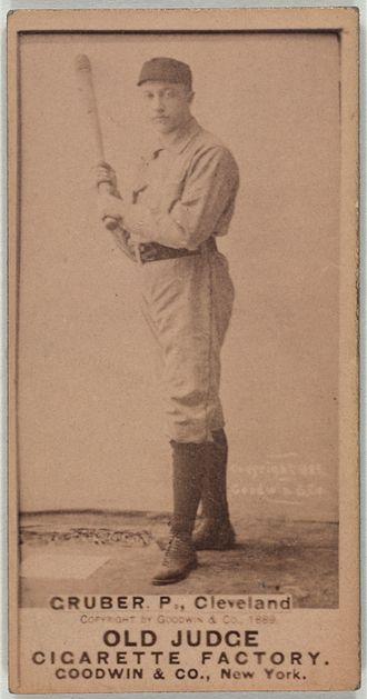 Henry Gruber - Image: Henry Gruber baseball card