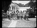 Herbert Hoover and scouts outside White House, Washington, D.C. LCCN2016889908.jpg