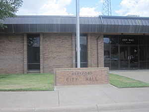 Hereford, Texas - Image: Hereford, TX, City Hall IMG 4852