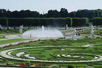 Herrenhausen Gardens - Fountain in the Great Garden