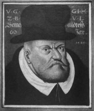 Julius, Duke of Brunswick-Lüneburg - Duke Julius of Brunswick, 1590 portrait
