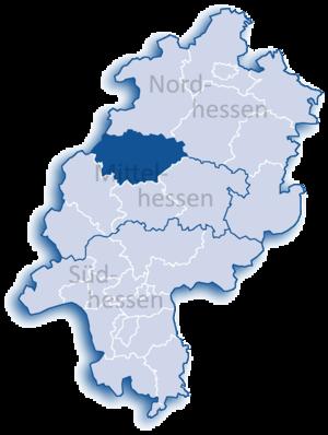 Marburg-Biedenkopf - Image: Hessen MR