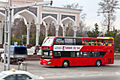 Higer double-decker bus in Tashkent, Uzbekistan.jpg