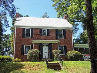 Highland Park–Overlee Knolls national historic district located at Arlington County, Virginia