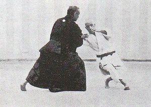 Judo - Jigoro Kano and Yoshiaki Yamashita performing Koshiki-no-kata