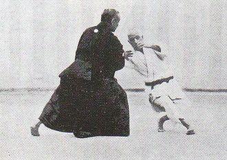 Judo - Kanō Jigorō and Yamashita Yoshitsugu performing Koshiki-no-kata