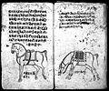 Hindi Manuscript 191, fols. 8 verso, 9 recto Wellcome L0024201.jpg