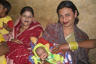 Tonsure - Image: Hindu baby first head shave choulopan chudakarana sanskara