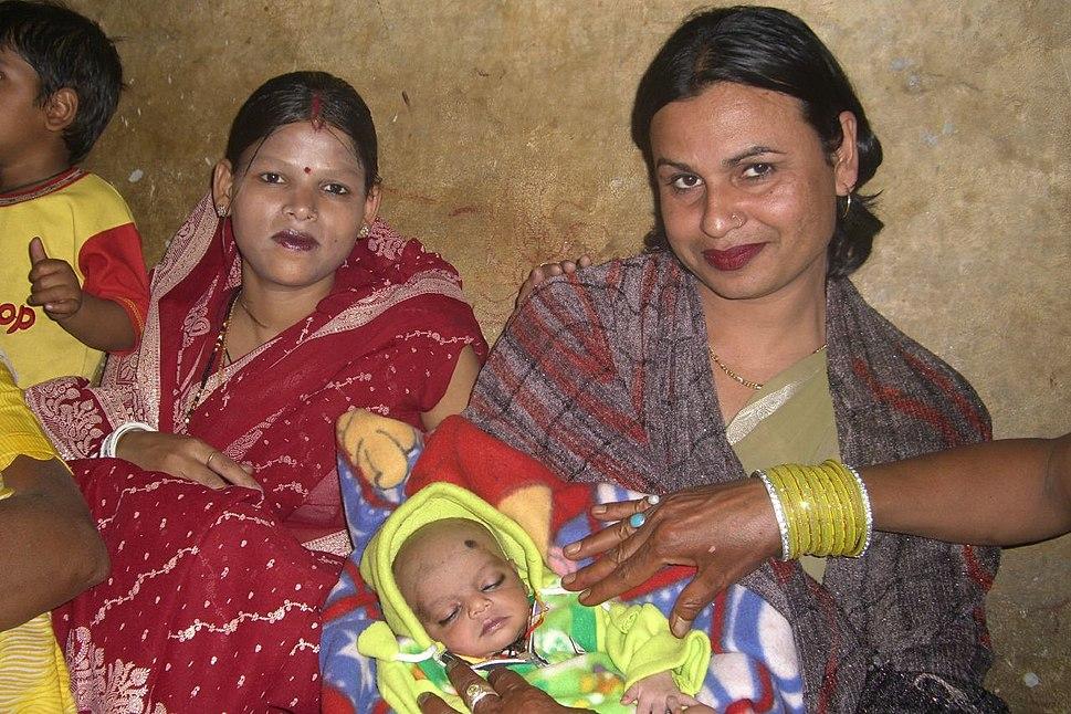 Hindu baby first head shave choulopan chudakarana sanskara