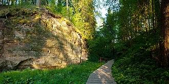 Rõuge Parish - Image: Hinni kanjon Rõuge vallas