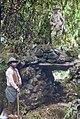 Hiram Bingham at Espiritu Pampa ruins 1911.jpg