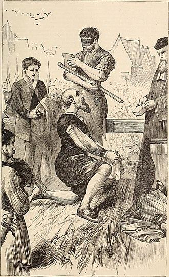 Thomas More - Beheading of Thomas More, 1870 illustration