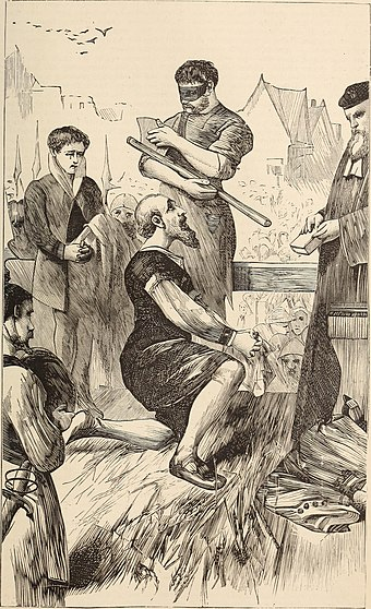 Beheading of Thomas More, 1870 illustration History of the great reformation in Europe in the times of Luther and Calvin.. (1870) (14785678593).jpg