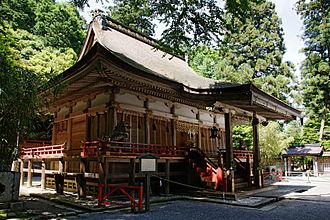 Hiyoshi Taisha - Nishi Hongū (West Hall of Worship) Honden