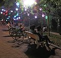 Hoan Kiem Lake at night (7357839694).jpg