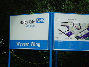 Holby City - A map of the hospital's internal layout