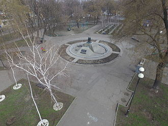 1941 Odessa massacre - Holocaust Memorial in Odessa, aerial view
