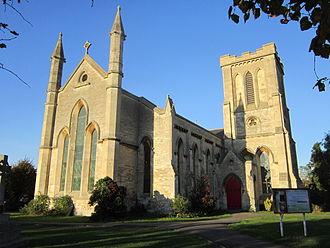 Trowbridge - Holy Trinity Church on Stallard Street