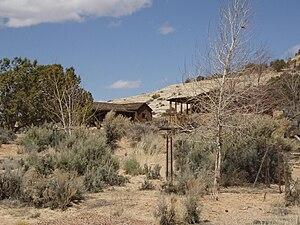 Home of Truth, Utah - Inner Portal buildings