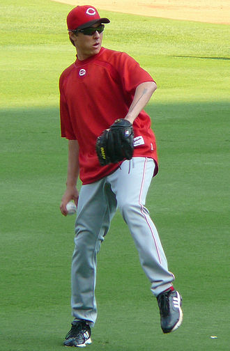 Homer Bailey - Bailey with the Reds in 2009