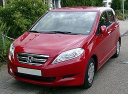 Honda FR-V front 20080718