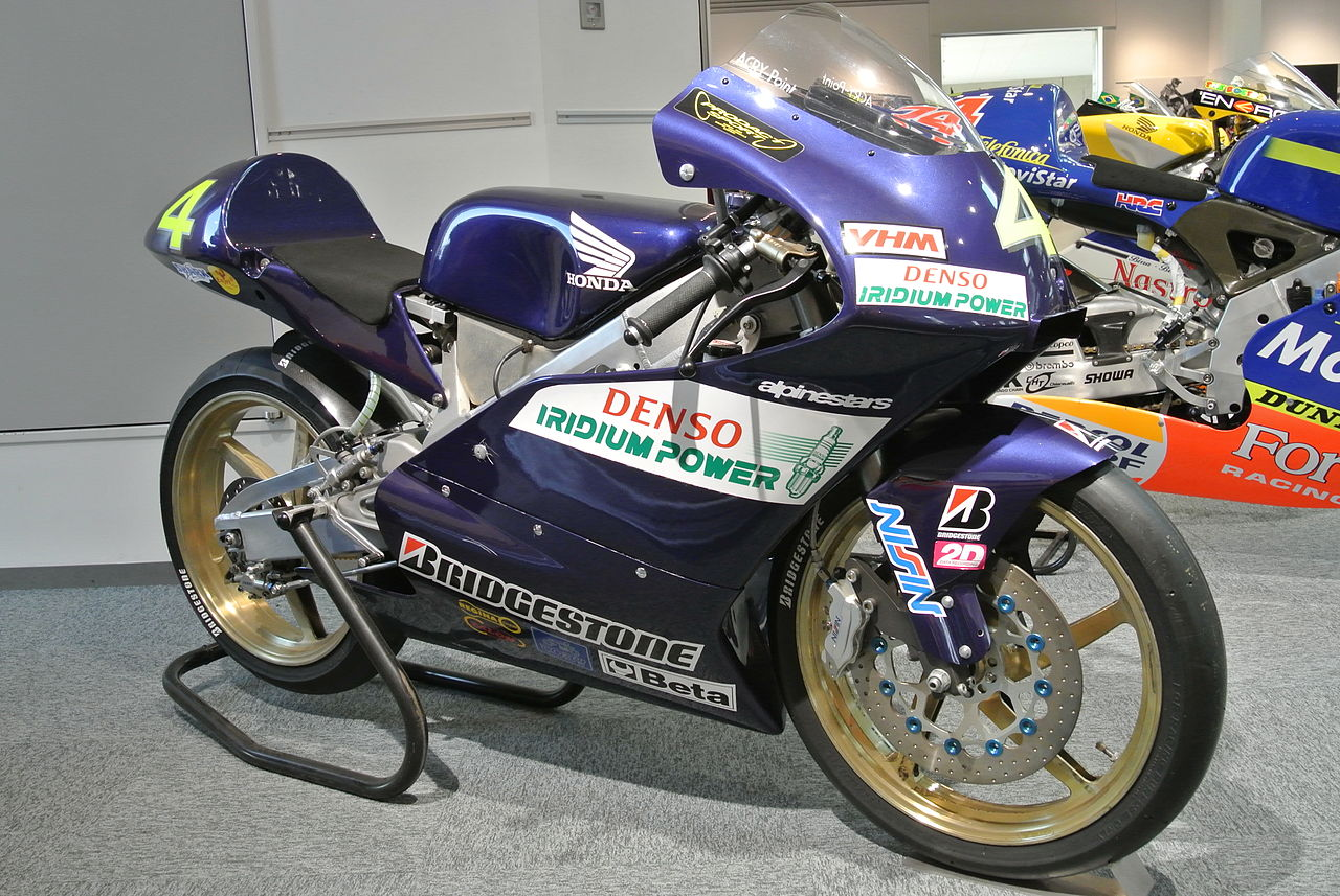 File:Honda RS125R in the Honda Collection Hall.JPG - Wikimedia Commons
