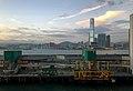 Hong Kong-Macau Ferry Pier and West Kowloon skyline (20180902184120).jpg
