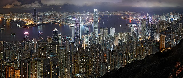 Hong Kong Night Skyline - Wikipedia