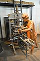 Hopkinson & Cope - Printing Press - Amritamoyee - Information Revolution Gallery - National Science Centre - New Delhi 2014-05-06 0764.JPG
