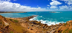 Port Elliot, South Australia - Horseshoe Bay taken from Freemans Nob, facing towards Commodore Point