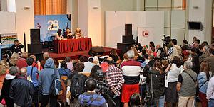 Hossein Shahabi - Hossein Shahabi Press conference, At The Mar Del Plata film festival 2013