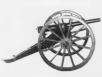 Hotchkiss gun - A Hotchkiss 42 mm gun