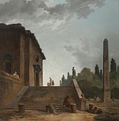 Hubert Robert - Landscape with Stairs and Obelisk.jpg