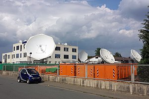 Hughes Europe - Network Operations Center in Griesheim, Germany