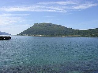Hugla island in Nesna, Norway