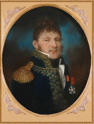 Pierre-Augustin Hulin - portrait miniature of Hulin