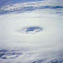 Eye Of Hurricane Florence On November  As Seen From Space Shuttle Atlantis