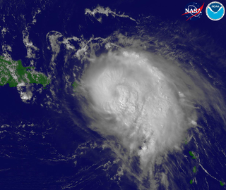Effects of Hurricane Georges in Puerto Rico Effects of Category 3 Atlantic hurricane in 1998