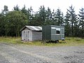 Hut and caravan, Harwood Forest - geograph.org.uk - 541489.jpg