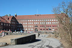 Hvitfeldtska gymnasiet - den nordlige bygning.   JPG