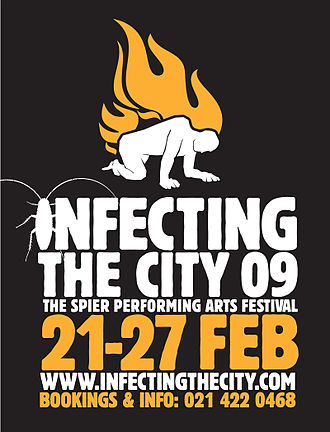 Infecting the City - Infecting The City 2009 poster depicting the theme Home Affairs