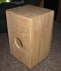 I made a cajon.jpg